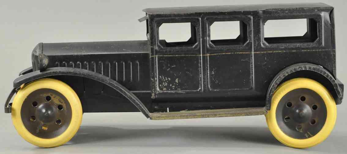 schieble spielzeug auto limousine in schwarz
