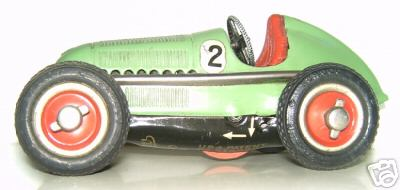 Schuco 1050/2 Race Car Mercedes silver arrow Nr. 2