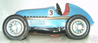 Schuco 1050/3 Rennwagen Mercedes Silberpfeil Nr. 3