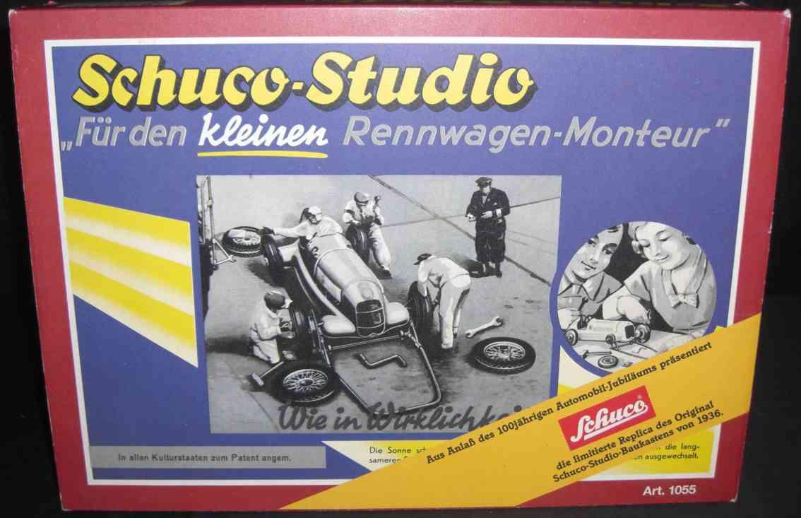 Schuco 1055 Baukastenauto Schuco Studio Für den kleinen Rennwagen-Monteur