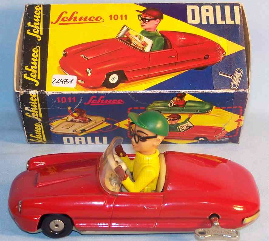 Schuco 1101 Auto Dalli mit Uhrwerk