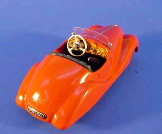 schuco 2002 blech spielzeug akustiko-auto