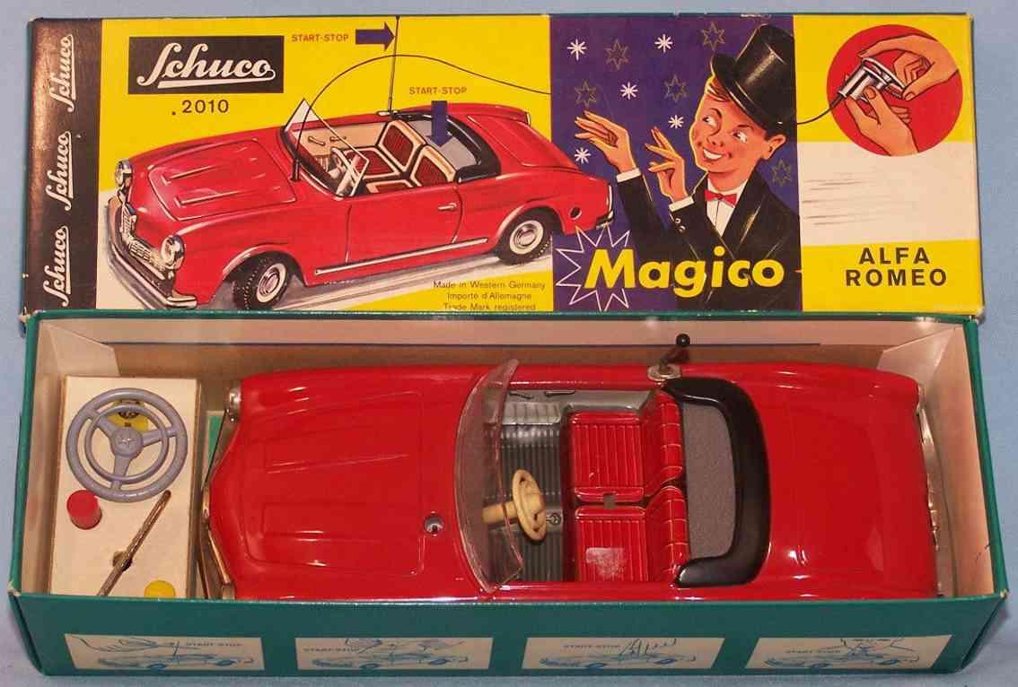 schuco 2010 blech spielzeug auto magico alfa romeo