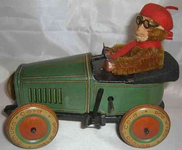 Schuco 202 Wunder Auto mit Affe