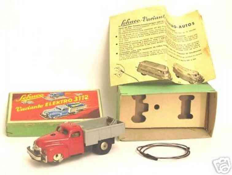 Schuco 3112 Lastwagen mit Batterie oder Uhrwerk