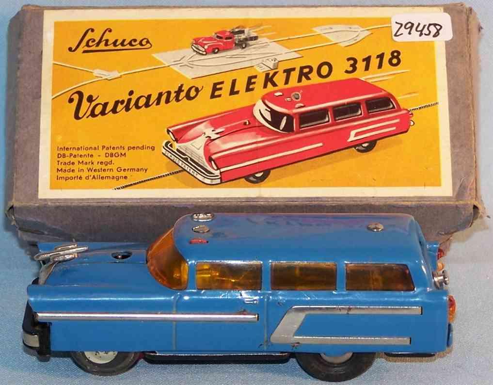Schuco 3118 Varianto station car aus Blech mit elektrischem Antrieb