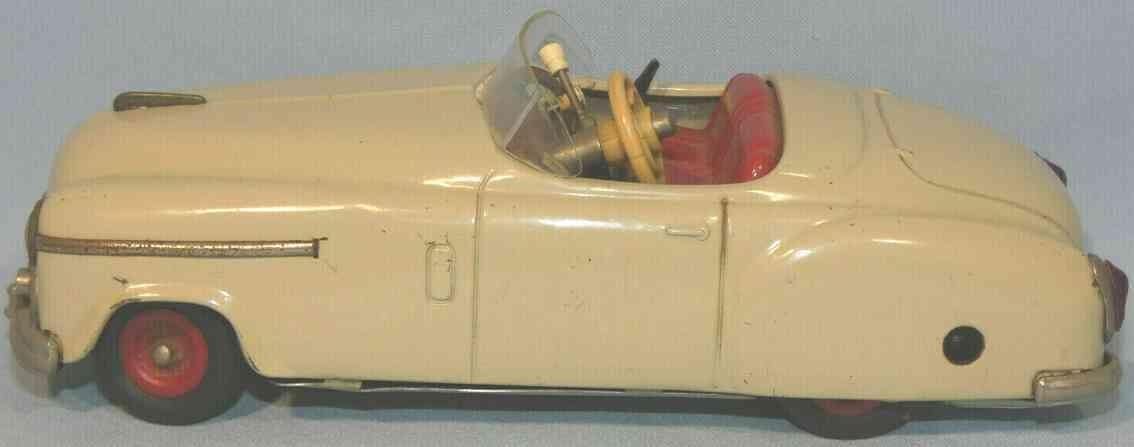 schuco 4003 tin toy car combinato beige