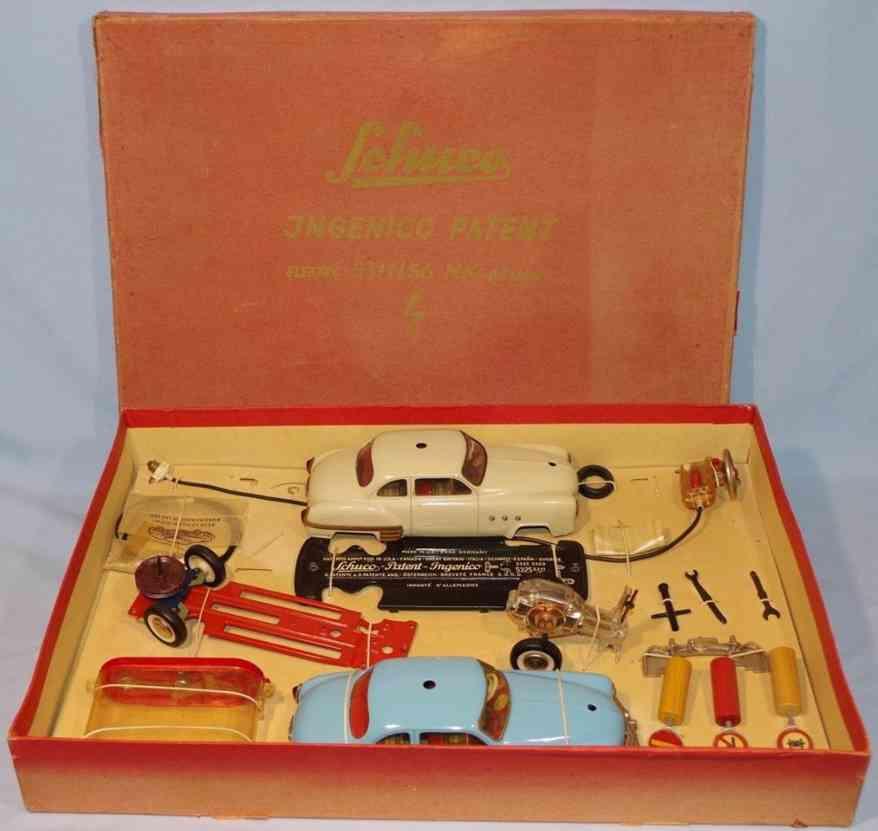 schuco 5311/56 mk blech spielzeug baukastenauto ingenico de luxe