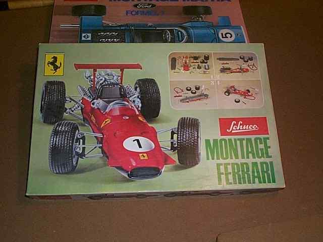 Schuco  Montage Ferrari kit