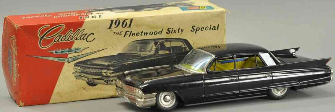shioji shoten shioji & co ltd blech fleetwood sixty special cadillac 1961 schwarz