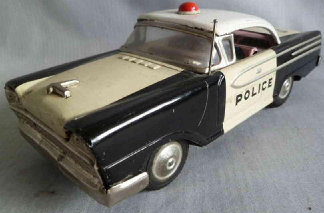 shioji shoten shioji & co ltd blech spielzeug auto polizeiwagen