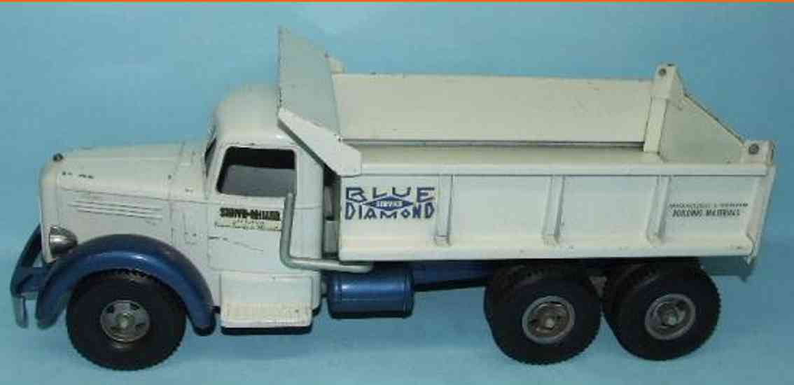 smith-miller 1-709 stahlblech blue diamond l mack kipplastwagen