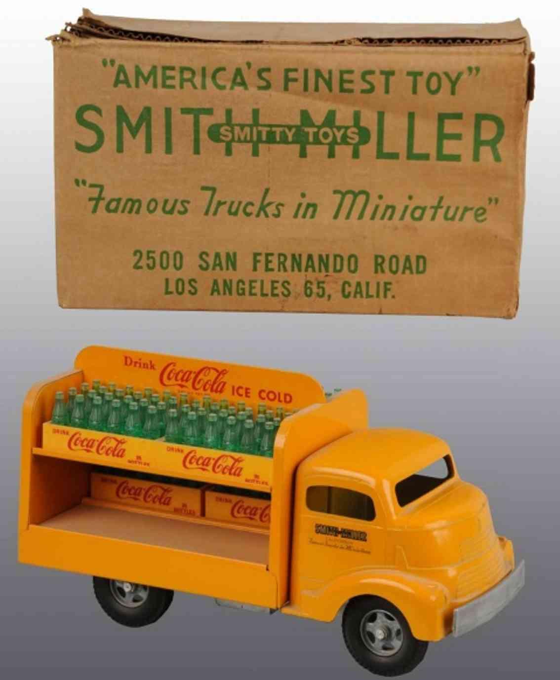 smith-miller coca-colaa truck oragne