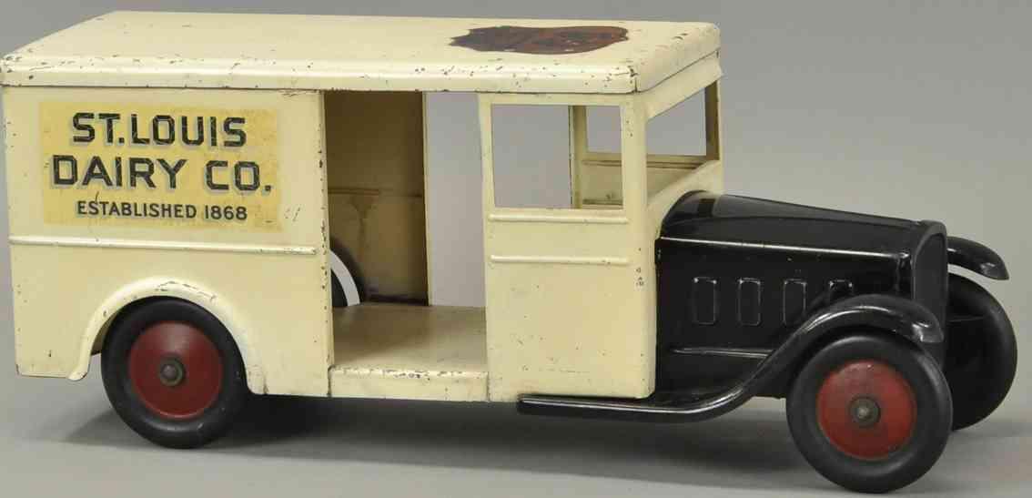 steelcraft spielzeug milch lieferwagen stahlblech st louis
