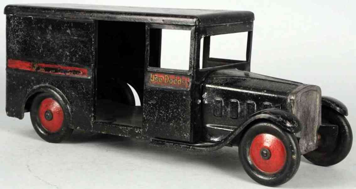 steelcraft pressed steel dodds store wuality tells truck toy in black