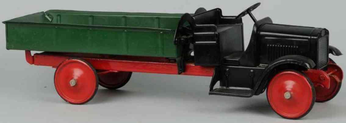 steelcraft stahlblech spielzeug kipplastwagen gmc
