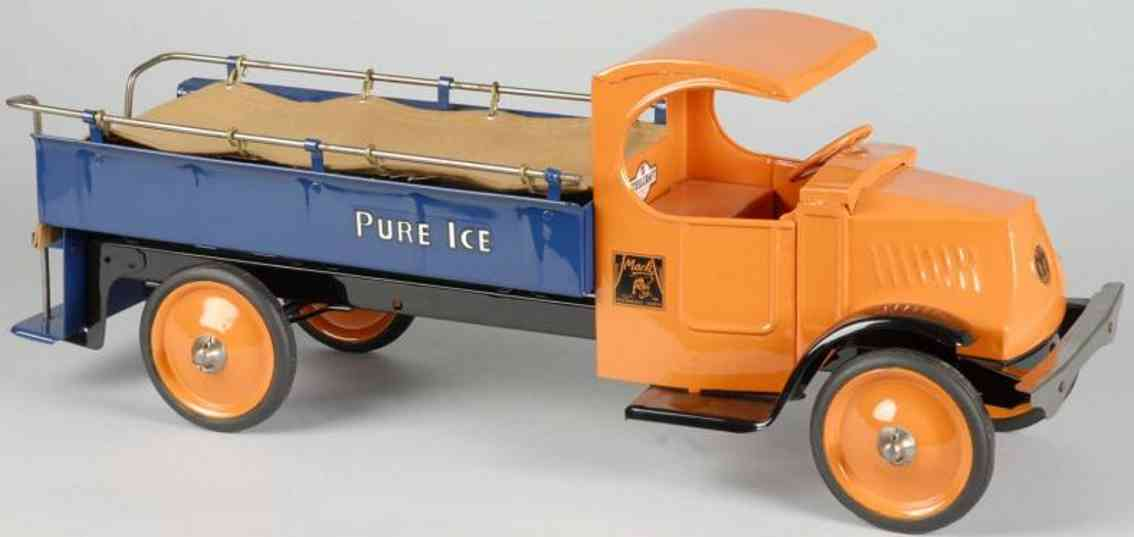 steelcraft stahlblech spielzeug lastwagen