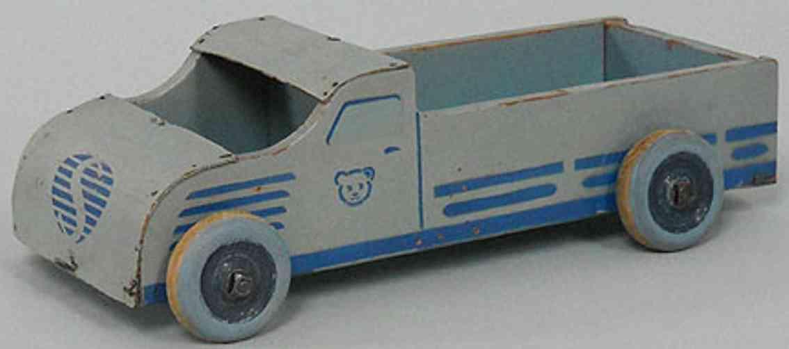 steiff 8810 holz spielzeug autoflex lastwagen