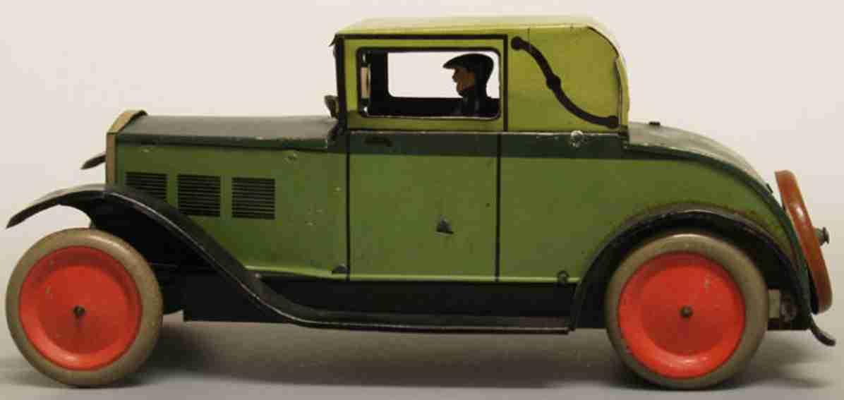 stock walter 316 blech spielzeug auto ford modell a herrenfahrer federwerk