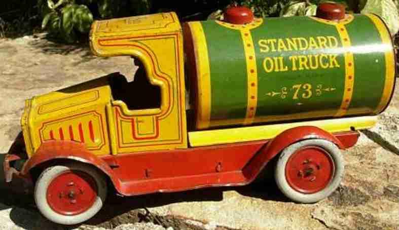 Strauss Benzin-Lastwagen