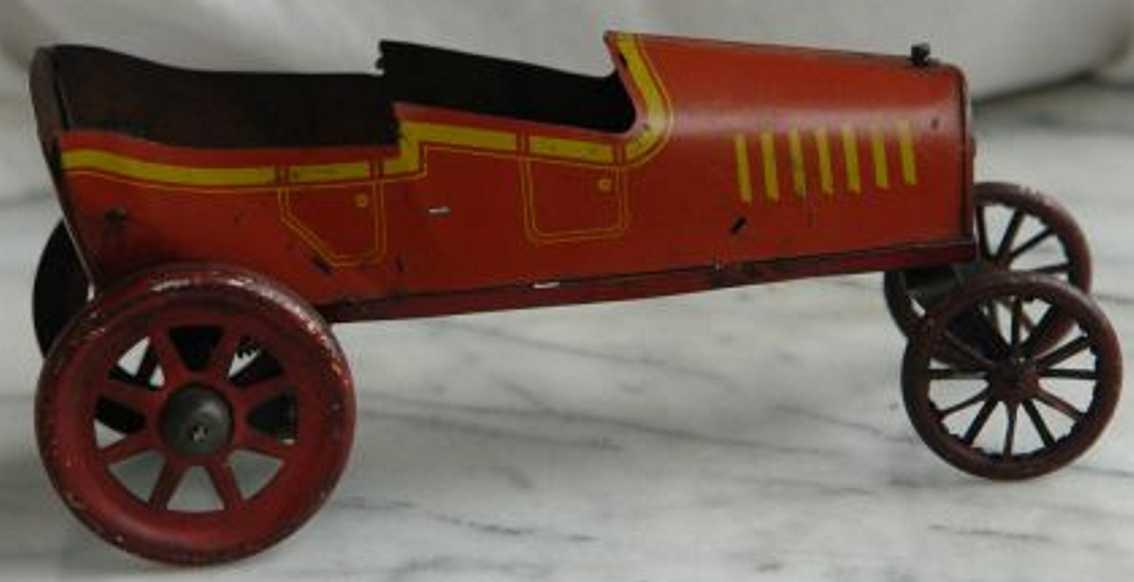 strauss 53 tin toy trik-car clockwork