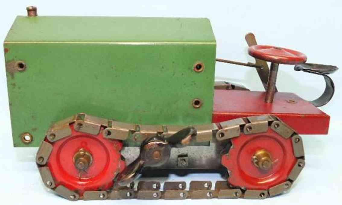 Structo Traktor aus gepreßtem Stahl