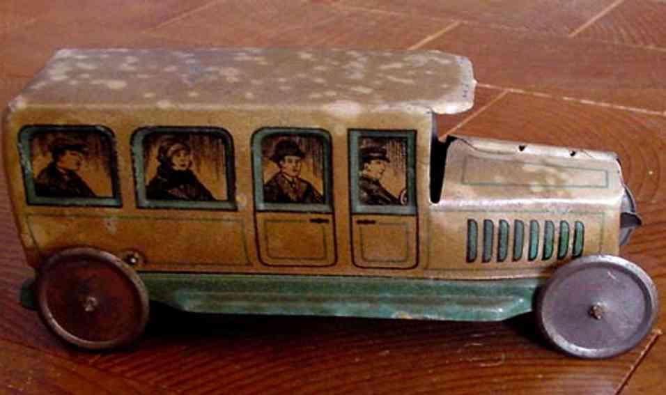 Technofix 170E Oldtimer Limousine mit Schwungrad