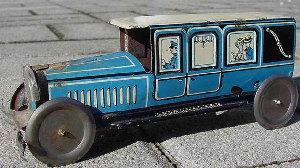 technofix 218 blech spielzeug auto auto ohne werk