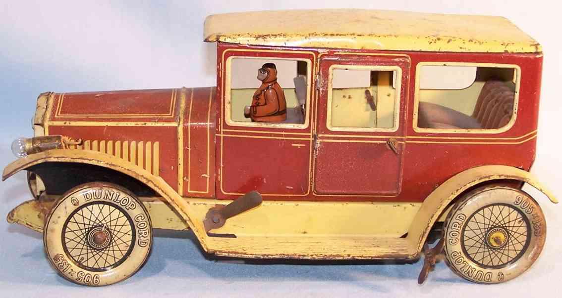 Tippco 22730 Oldtimer Limousine aus Blech mit Uhrwerk