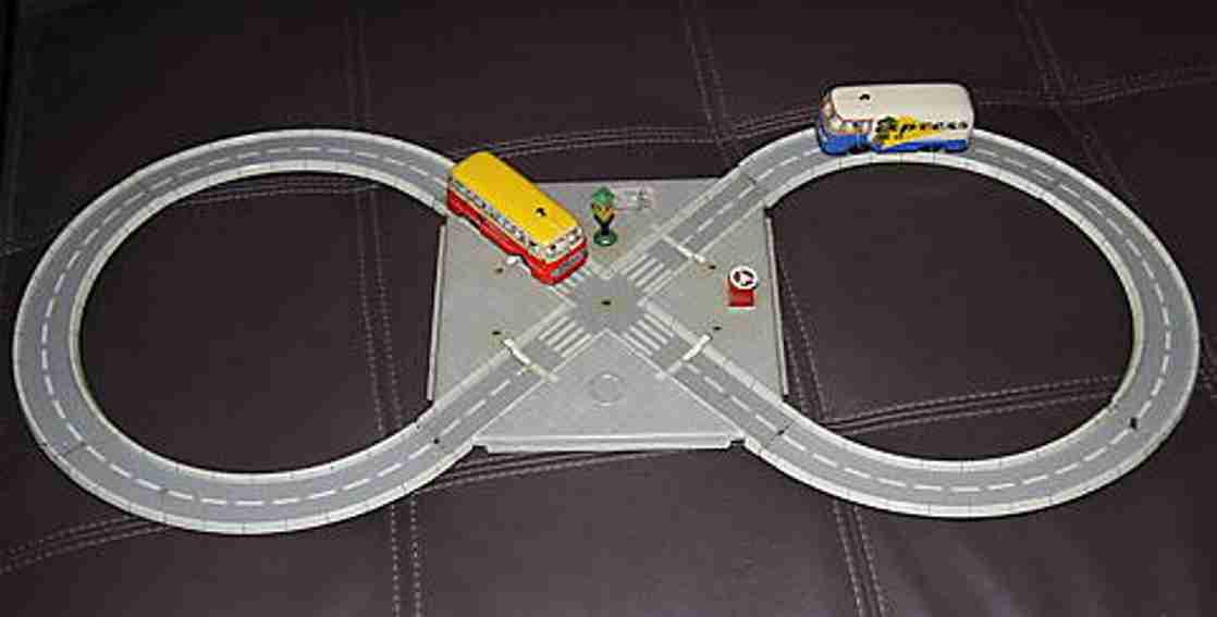 Tippco 740 Highway Traffic light railway with 2 cars