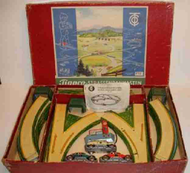 tippco 797 tin toy highway wind up car set 3 cars blue vw