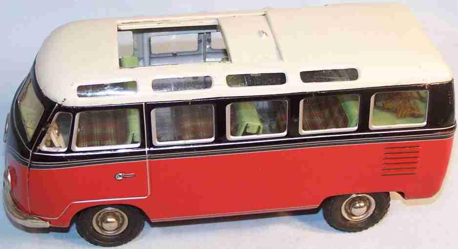 tippco 921F tin toy vw samba bus