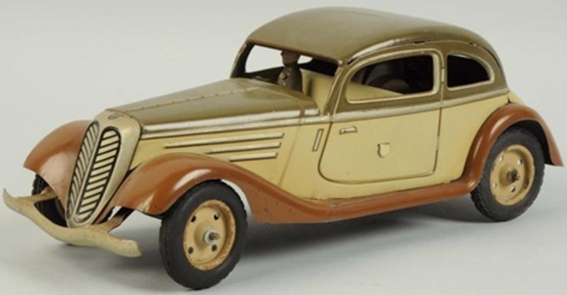 tippco 927 tin toy closed dkw sports car