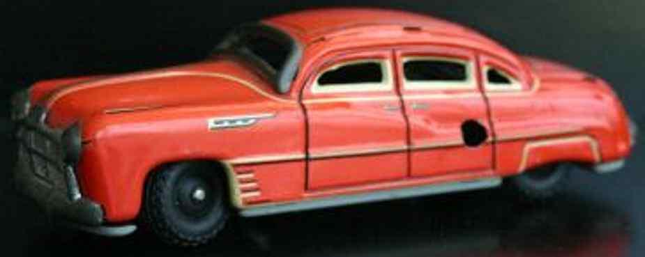 tippco tin toy car hudson tco-100 limousine