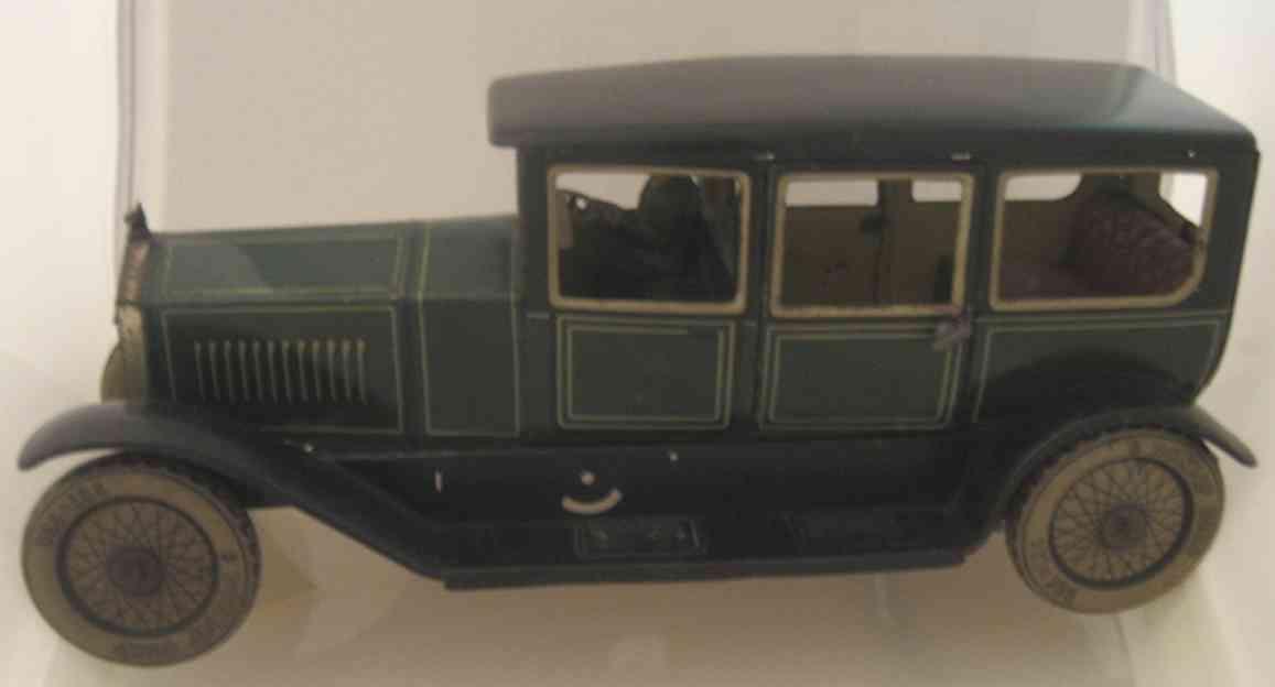 Tippco Oldtimer große Limousine mit Uhrwerk Fahrer Kühlerfigur