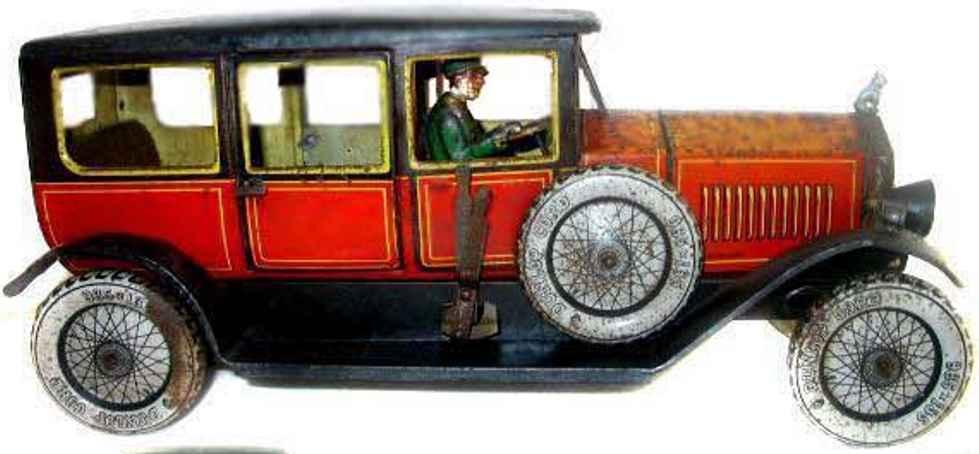 tippco 950 tin toy limousine mopscar