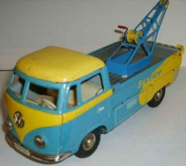 Tippco 20 VW-Abschleppwagen mit Friktionsantrieb