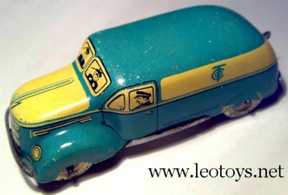 tippco blech spielzeug auto große limousine aus rennwagenkasten