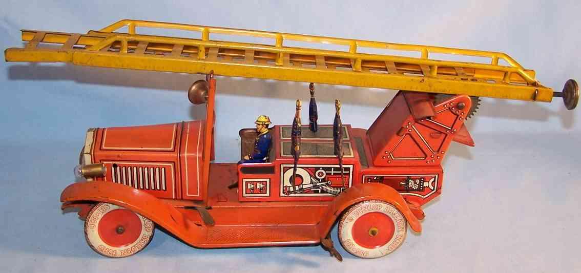 Tippco T.C.22730 Elektrische Feuerwehrleiterwagen