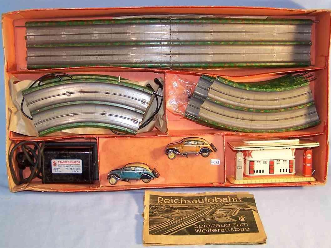 Tippco Reichsautobahn Set mit elektrischem Antrieb