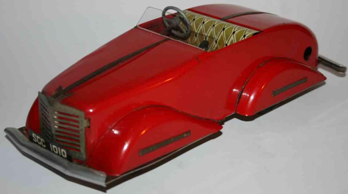 guenthermann sgc 1010 blech spielzeug auto sportwagen