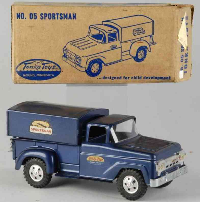tonka toys stahlblech spielzeug sportsman lastwagen
