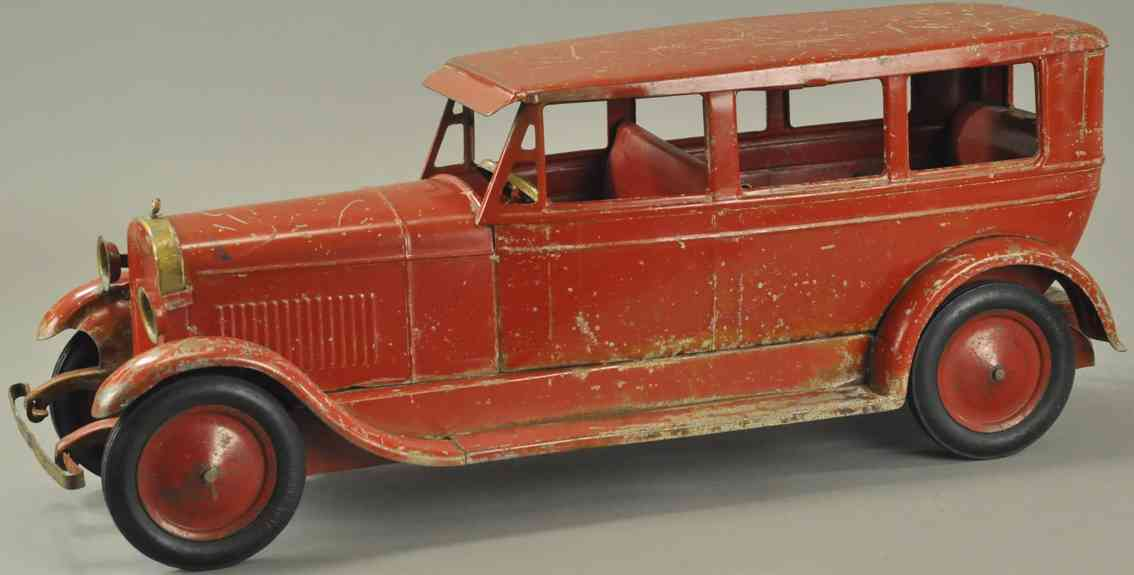turner toys stahlblech spielzeug auto grosser lincoln rot