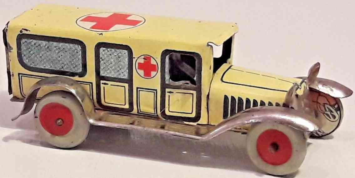 ambulance car wind-up clockwork reichsautobahn