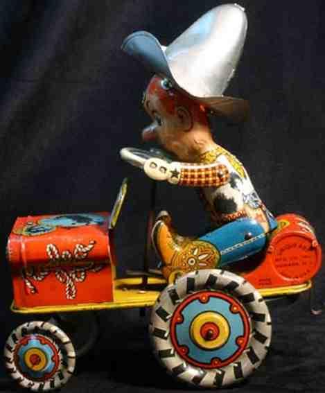unique art manufacturing blech spielzeug auto rodeo joe