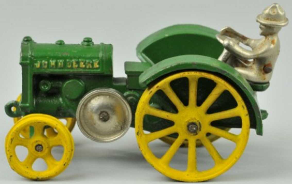 vindex gusseisen john deere d modell traktor gruen