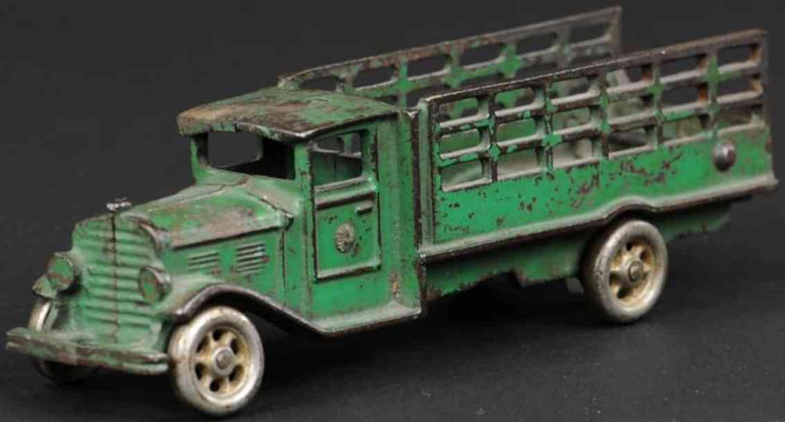 vindex spielzeug gusseisen rungen-lastwagen gruen