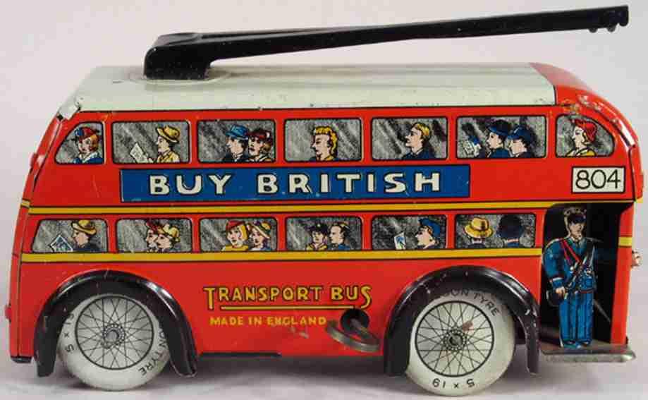 wells buy british doppeldeckerbus wells o london