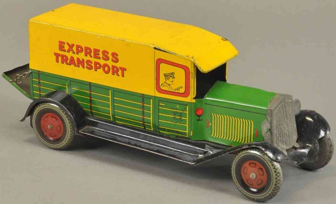 wells tin toy express van