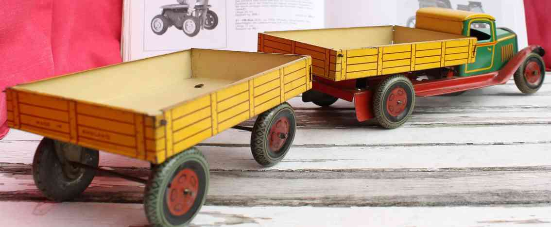 Wells Lastwagen Pritschenwagen Kipplastwagen